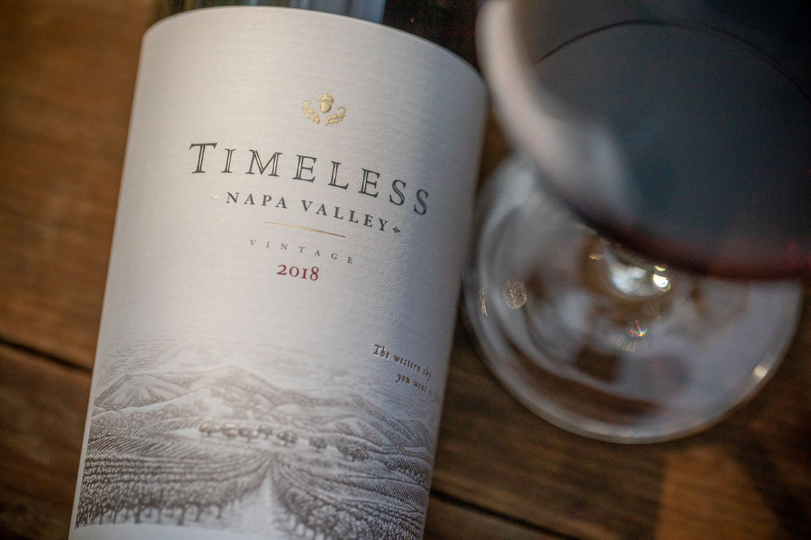 2018 Timeless Napa Valley proprietary red blend
